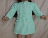 208 Easter Suit   -  - Crochet Pattern for American Girl Dolls