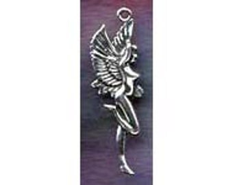 Sylph Fairy Jewelry Charm Pendant Sterling Sidhe Faery  FAY009