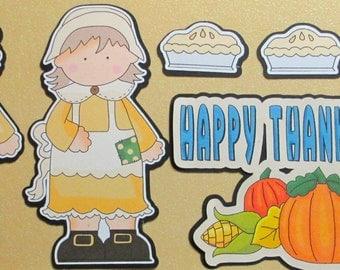 Thanksgiving die cut sets