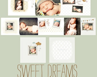 INSTANT DOWNLOAD  Sweet Dreams 3x3 Millers Lab Accordion
