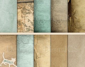 Antique paper Digital paper background digital paper texture scrapbook paper Printable paper Old paper Digital background digital