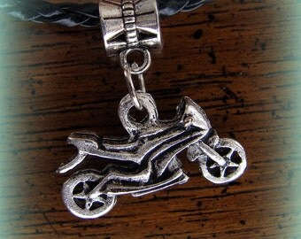 MOTORCYCLE CYCLE BIKE Pendant Jewelry Detailed Bike Harley Indian style Steampunk look