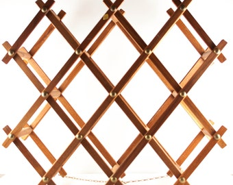 OMC Japan Folding Wood Wine Rack