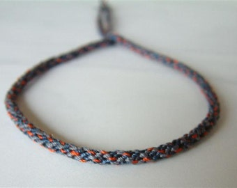 Woven Surfer Style Cord - String - Bracelet - Durable / Hand Knotted by fig&fig