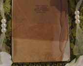 Vintage 50s Dupont Nylon Stockings with Seam New in Package.  Sandal Foot size 10.