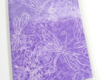 Passport Cover Lavender Dragonfly