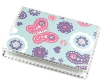 SALE Card Case Mini Wallet Butterflies