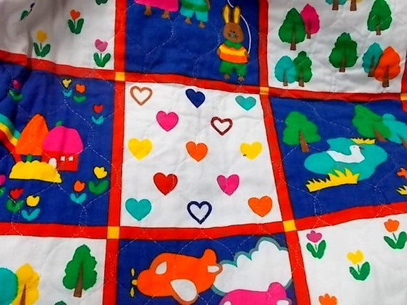Childrens novelty print fabric hoffman california by for Childrens fabric prints
