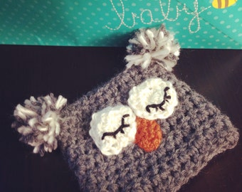Sleepy Owl Hat