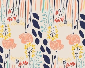 Summer Grove by Day (mw70020) - MEADOW by Leah Duncan - Art Gallery Fabrics - By the Yard