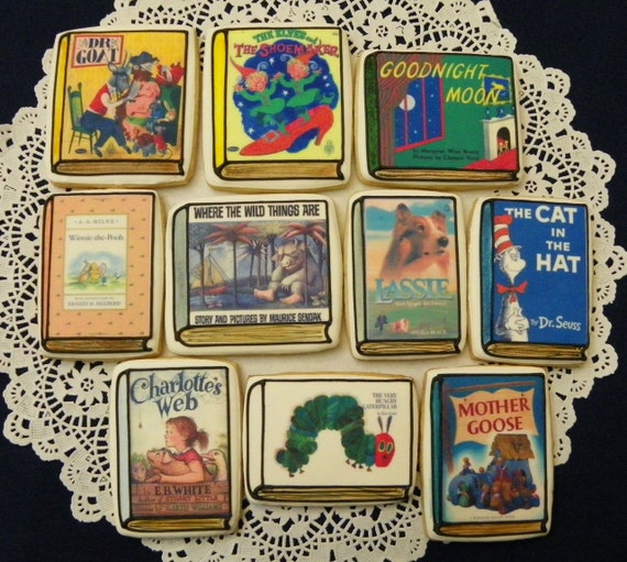 Childrens Storybook Cookies By Ruthiescookies On Etsy