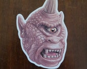 Harryhausen Cyclops waterproof sticker
