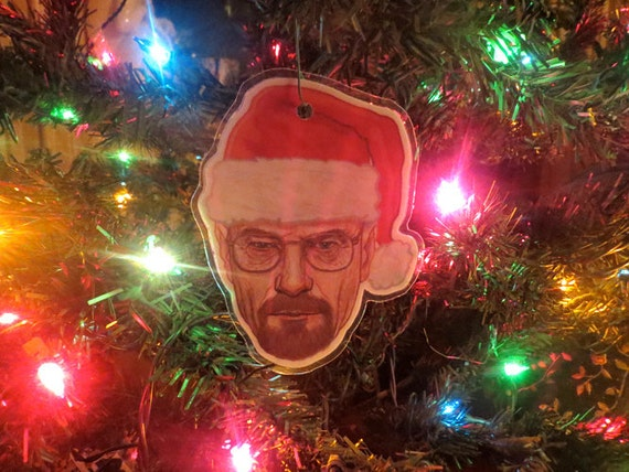Breaking Bad Walter White Heisenberg Christmas Ornament