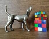 Cast Iron Dog // Metal Pet Home Decor