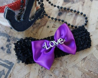 Olivia Paige -Cute sweet Bow  LOVE HEADBAND
