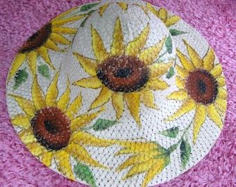 Sunflower Hat for Women