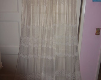 Popular Items For Lace Curtain Panels On Etsy