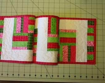 Quilted Holiday ChristmasTable Runner