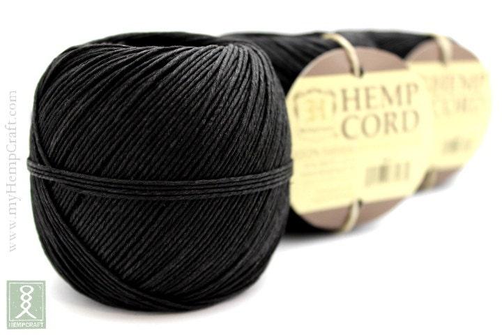 corde de chanvre chanvre noir 400ft ficelle string craft. Black Bedroom Furniture Sets. Home Design Ideas