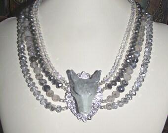 Spirit Wolf Necklace