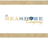 PreDesigned CUSTOM Logo Design SEASHORE Logo