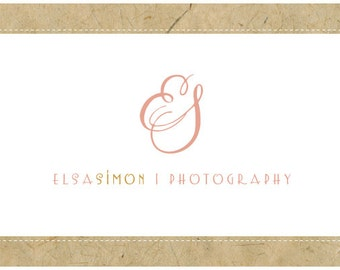 PreDesigned Logo - PreMade Logo - Vector Logo - Monogram Logo - ELSA Logo Design