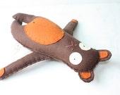 Felt Teddy Bear Stuffed Animal