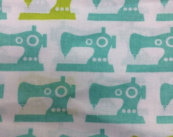sewing machines - cotton quilting fabric 1 yard