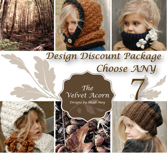 Design Discount Pattern Package CHOOSE ANY 7