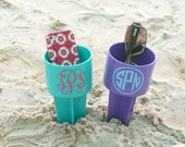Personalized Beach Cup Holders - Monogrammed Beach Spiker - Beverage Holder Beach Spike - Sand Spike - Sand Drink Holder