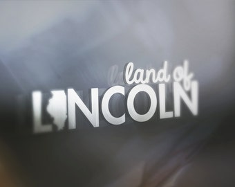 Illinois Land: Window Decal