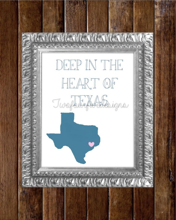 Texas Digital Printable