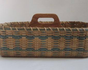Silverware-Paper Plate Basket / Divided Basket / Organizer Basket /