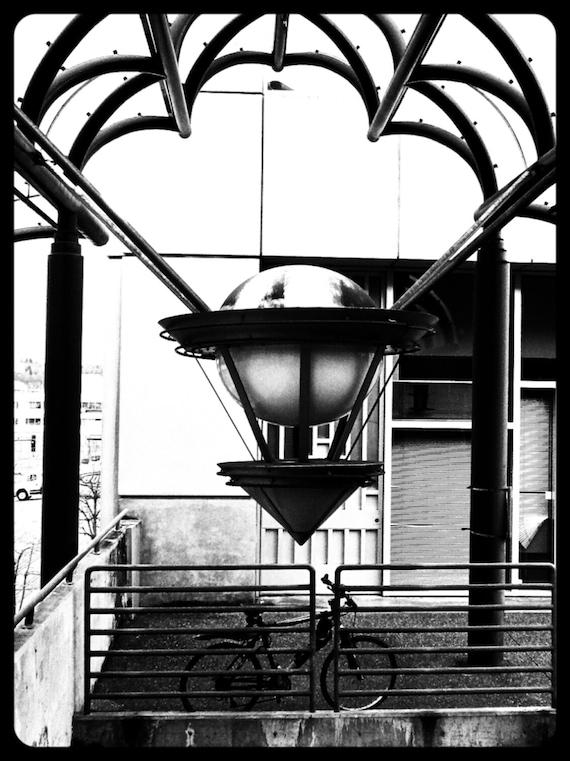 Photograph art deco architectural detail bicycle for Art deco architectural details