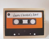 Mix Tape Cassette Father's Day Card