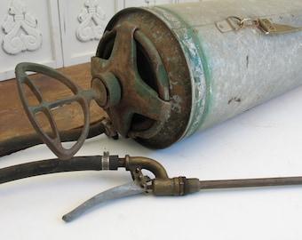 Vintage, Rustic, Garden Sprayer - Ward's Garden Aid Sprayer