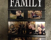 Photo board picture holder 4x6 pictures