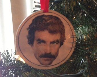Magnum PI (Tom Selleck) Ornament