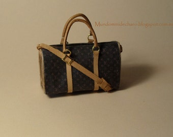 Travel bag, miniature, high style