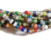 3 Strands Christmas Beads Trade Beads Love Beads African 78736