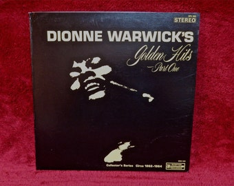 DIONNE WARWICKS'S - Golden Hits Part One - 1967 Vintage Vinyl Gatefold Record Album