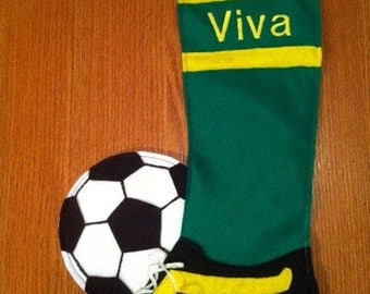 Any Sport personalized stocking - custom made to order