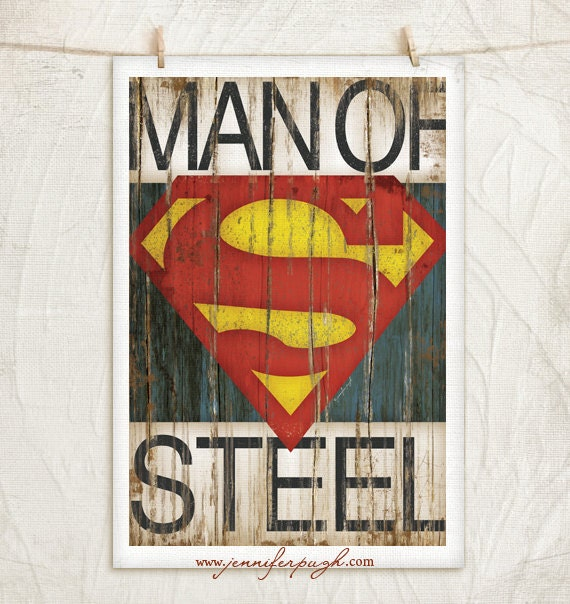 Vintage superhero wall art wwwimgkidcom the image for Superhero wall art