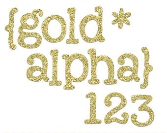 Gold Glitter Alphabet, glitter alpha clip art images, commercial use- Instant Download