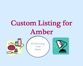 RESERVED for Amber - Custom hoop