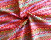 Japanese Fabric Cotton Yuwa - Happy Day - a yard