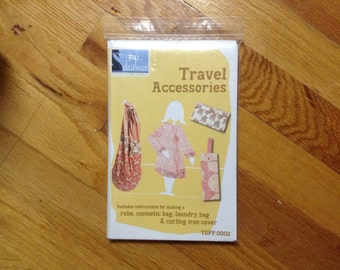 Travel Accessories Pattern, Adult one size fits all