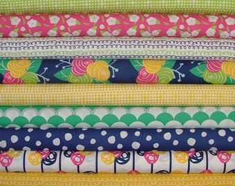 Fat Quarter Bundle of Gleeful by Sew Caroline for Art Gallery Fabrics