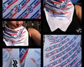 PEPSI challenge scarf, bandana, or handkerchief vintage 1990s