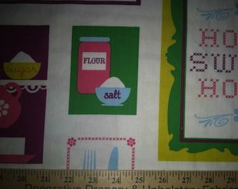 Kaufman, Home Sweet Home Cotton Woven Print